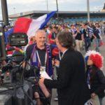 サッカーW杯2018ロシア 準々決勝フランスVSウルグアイ at ニジニノブゴロド